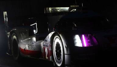 Hartley Porsche 919 Hybrid night Photo Red Bull