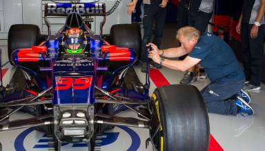 Hartley Toro Rosso number 29 USA GP Austin F1 2017 Photo Red Bull
