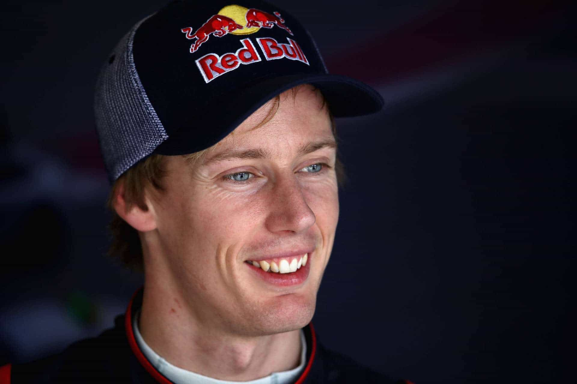 Hartley Toro Rosso number 29 USA GP Austin F1 2017 smile Photo Red Bull