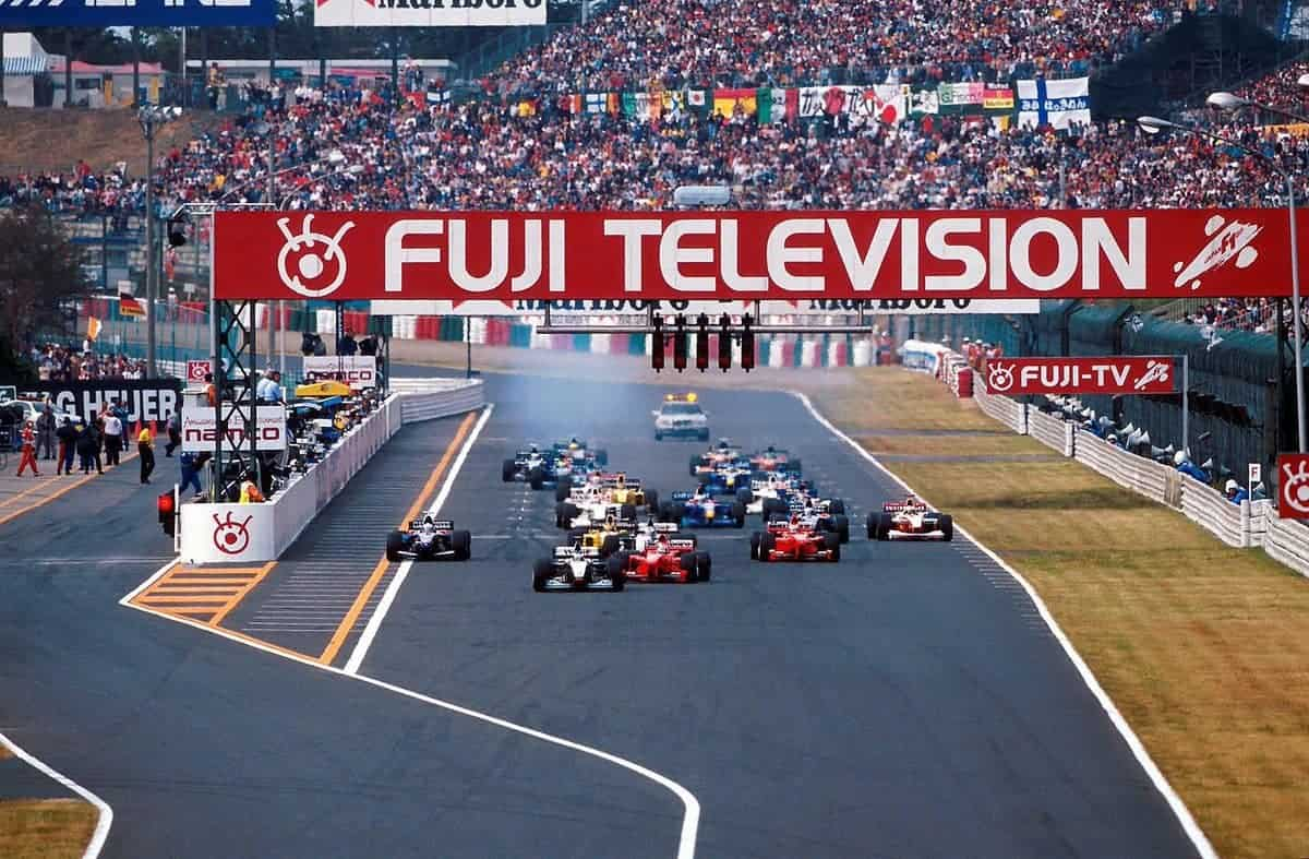 Japanese GP 1999 start Photo Twitter