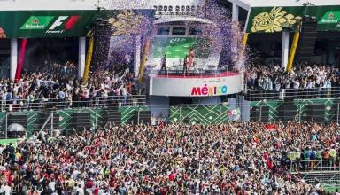 Mexico F1 2017 podium ceremony Photo Pirelli