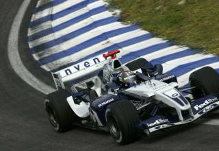 Montoya BMW Williams FW26 Brazilian GP F1 2004 Photo Williams