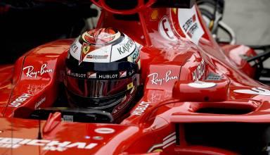 Raikkonen Ferrari SF70H close Japanse GP airbox new Photo Ferrari