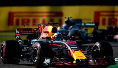 Ricciardo Red Bull Japanese GP chicane F1 2017 Photo Red Bull