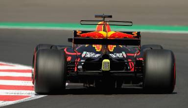 Ricciardo Red Bull Mexican GP F1 2017 FP rear Photo Red Bull