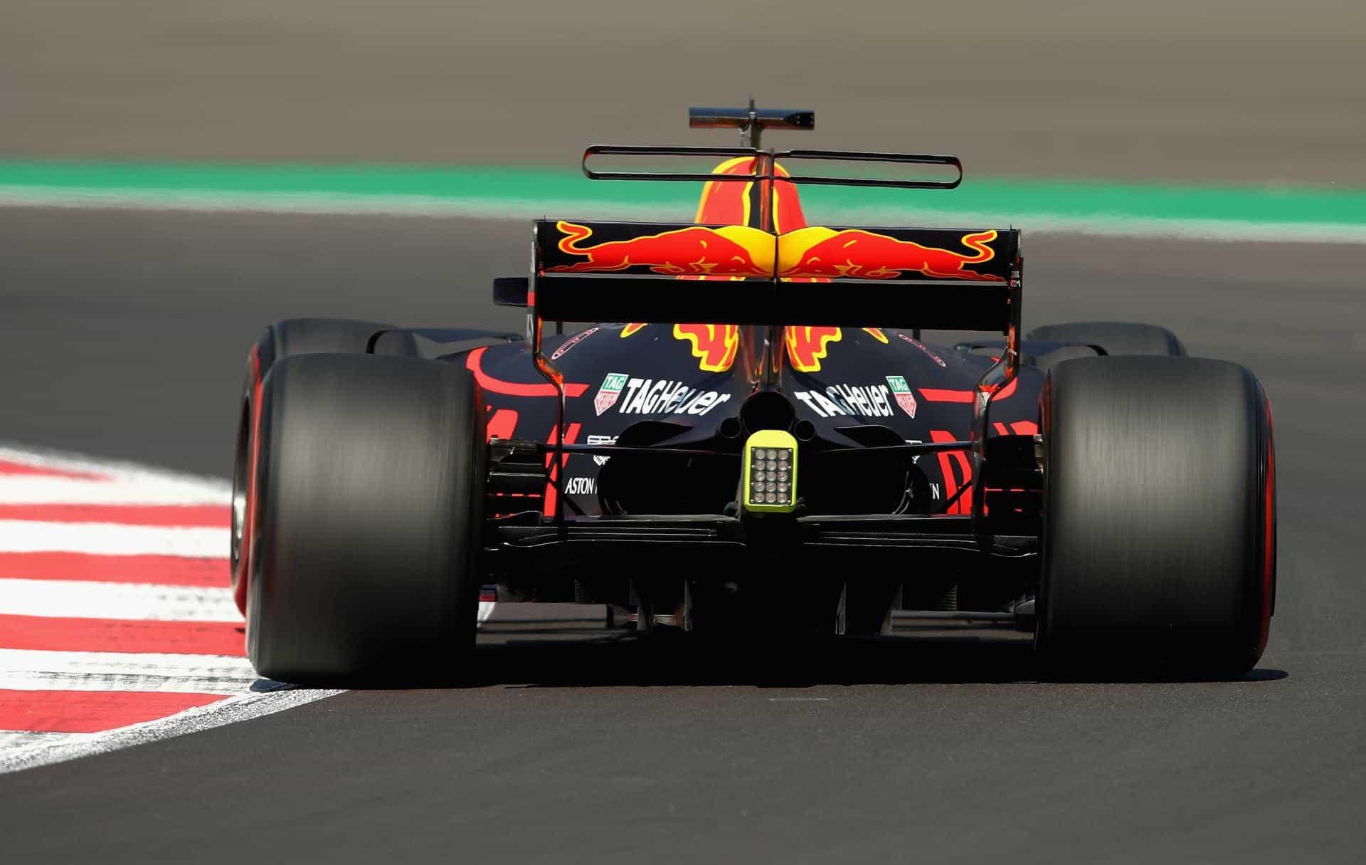 Ricciardo Red Bull Mexican GP F1 2017 FP rear Photo Red Bull