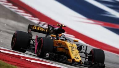 Sainz Renault USA GP Austin F1 2017 Photo Renault