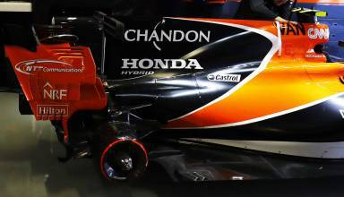 Vandoorne McLaren Honda Mexican GP F1 2017 garage Photo McLaren