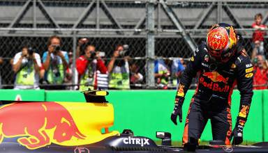 Verstappen Red Bull Mexican GP F1 2017 post Q Photo Red Bull