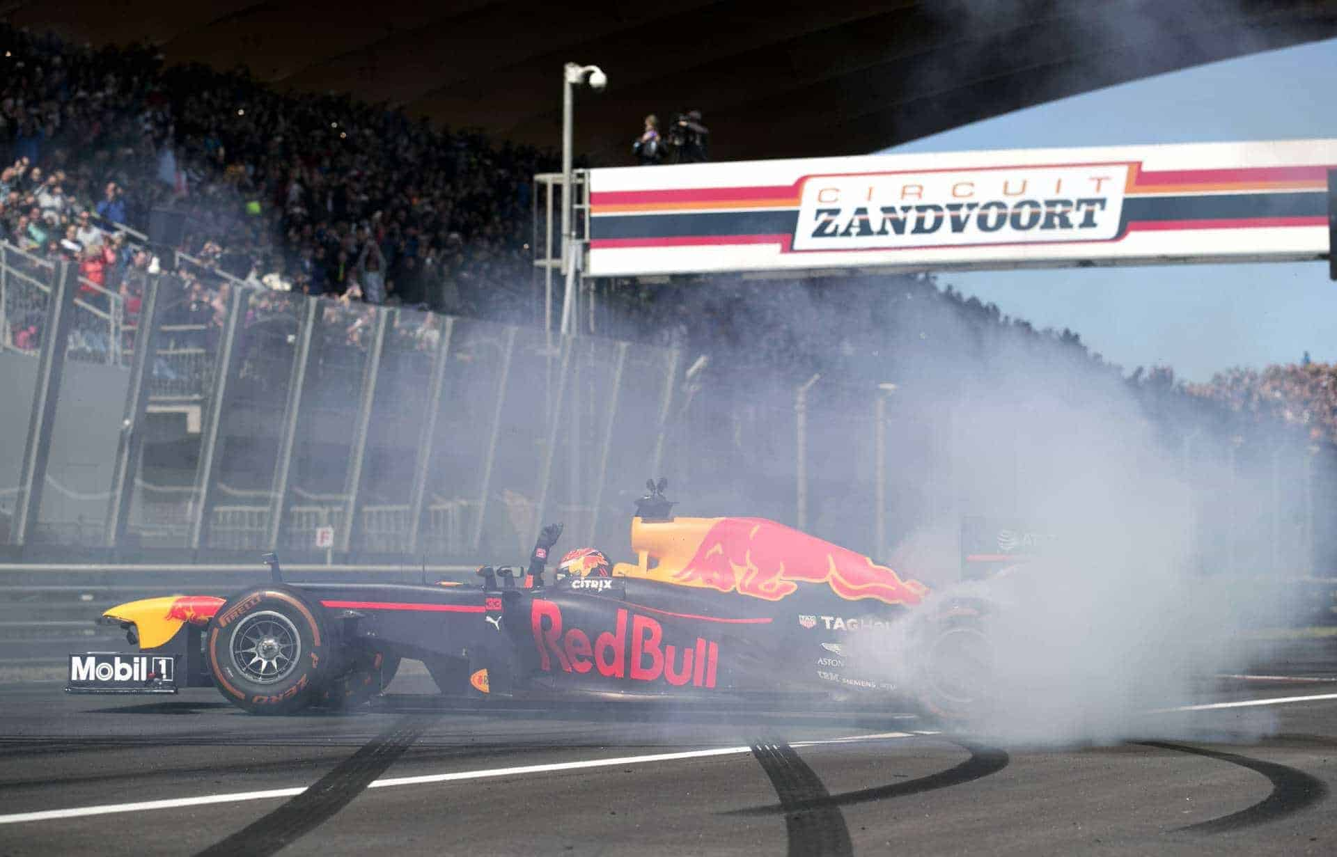 Verstappen Zandvoort F1 demonstration Photo Red Bull