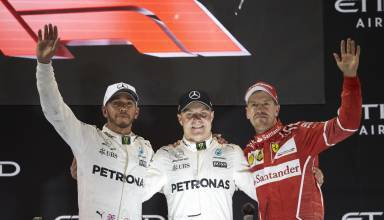 Abu Dhabi GP F1 2017 podium Photo Daimler
