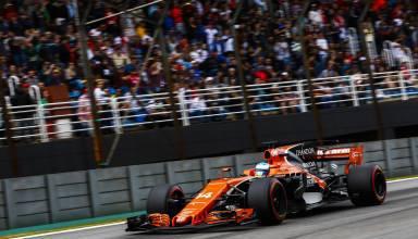 Alonso McLaren Brazil F1 2017 Senna S