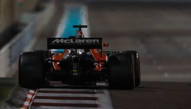 Alonso McLaren Honda MCL32 Abu Dhabi F1 2017 Photo McLaren