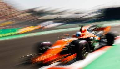 Alonso Mexican GP F1 2017 blur Photo McLaren