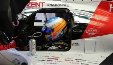Alonso Toyota WEC LMP1 Bahrain test 2017
