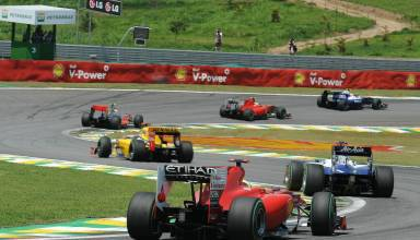 Brazilian GP F1 2010 race Senna S Photo Ferrari
