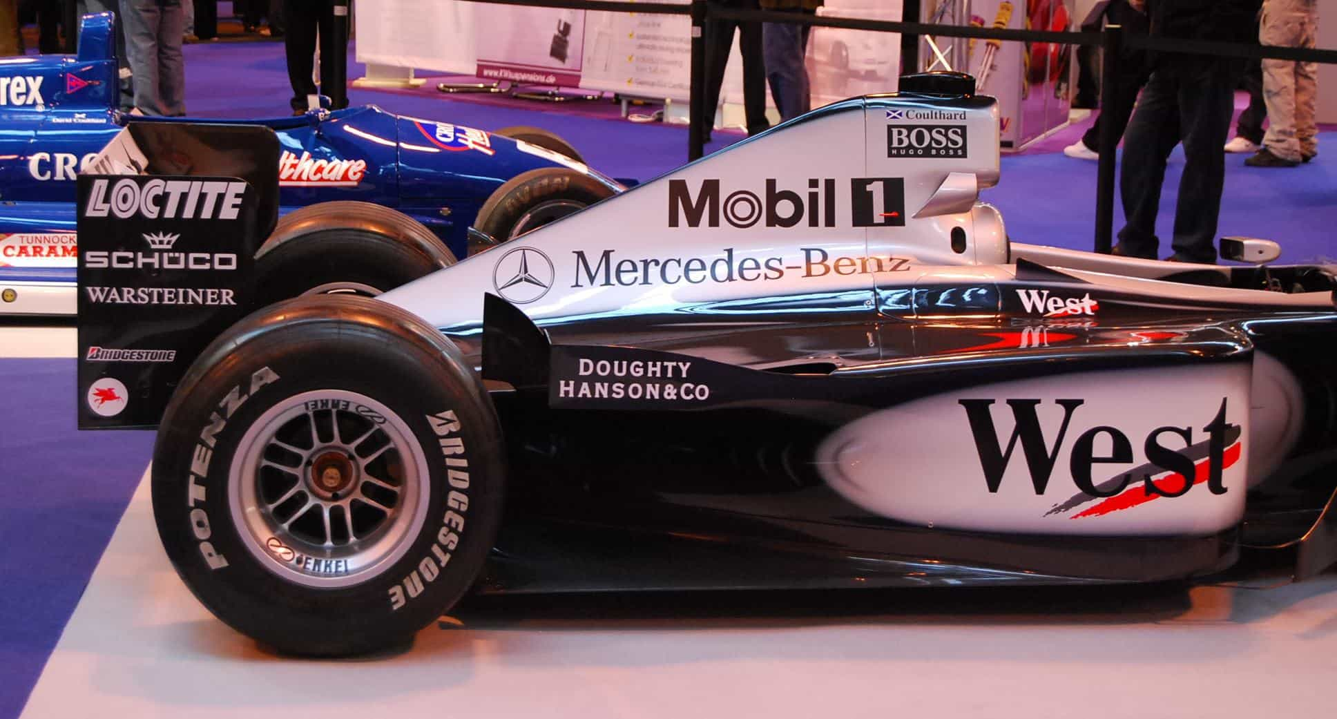 Coulthard McLaren MP4-15 F1 2000