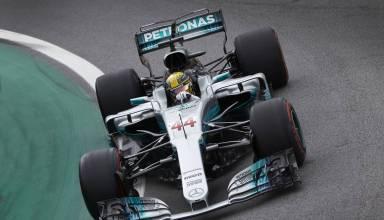 Hamilton Mercedes Brazilian GP F1 2017 Photo Daimler
