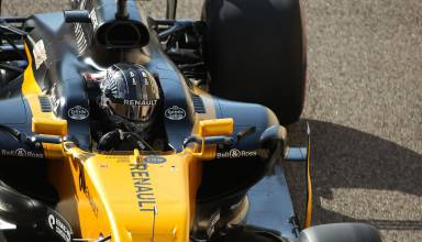 Hulkenberg Abu DHabi F1 2017 Photo Renault