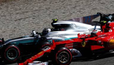 Raikkonen Bottas Italian GP F1 2017 Photo
