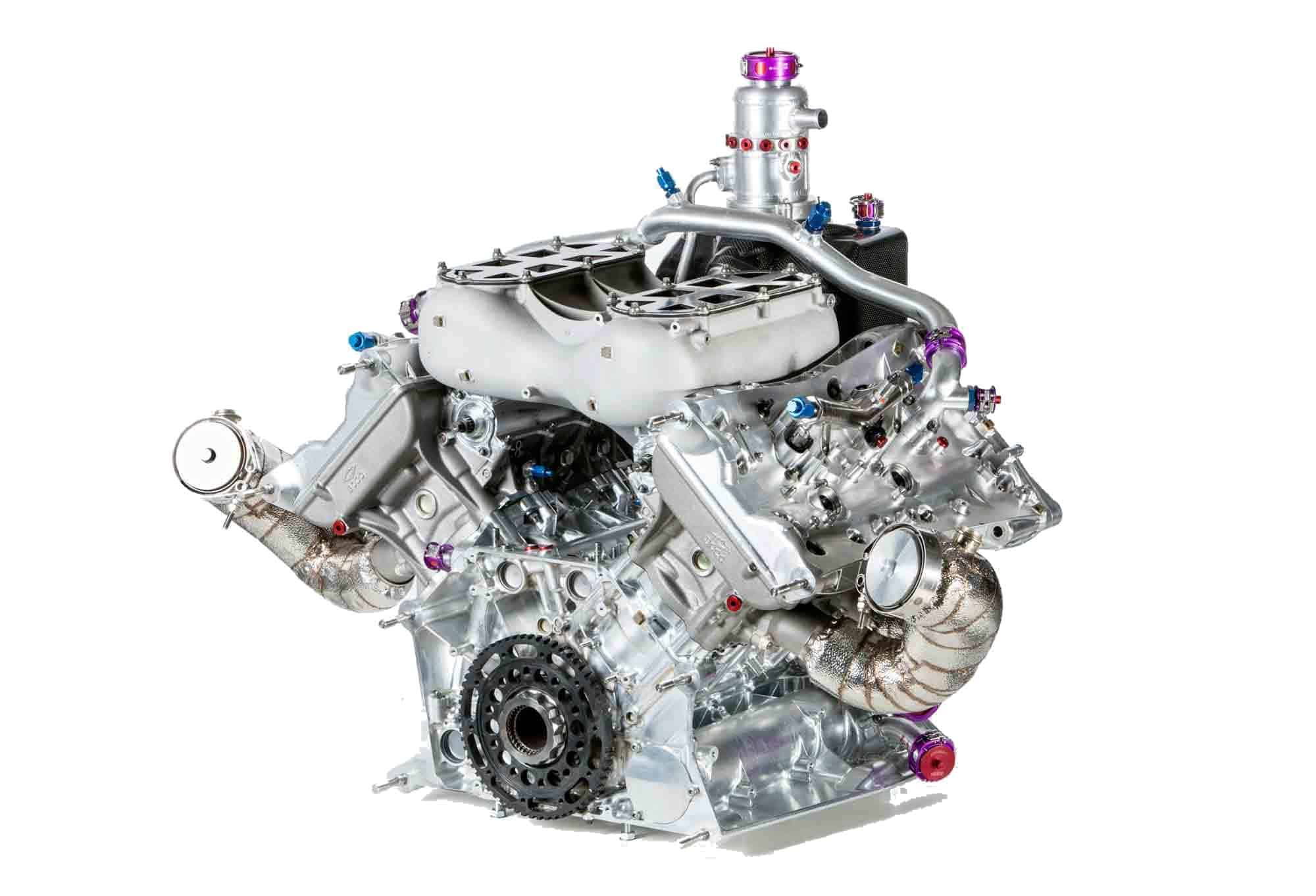 Porsche 919 V4 Wec Lmp1 Turbo Engine Right Rear