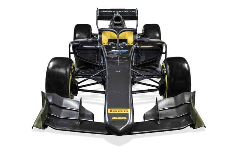 FIA Formula 2 car front shot