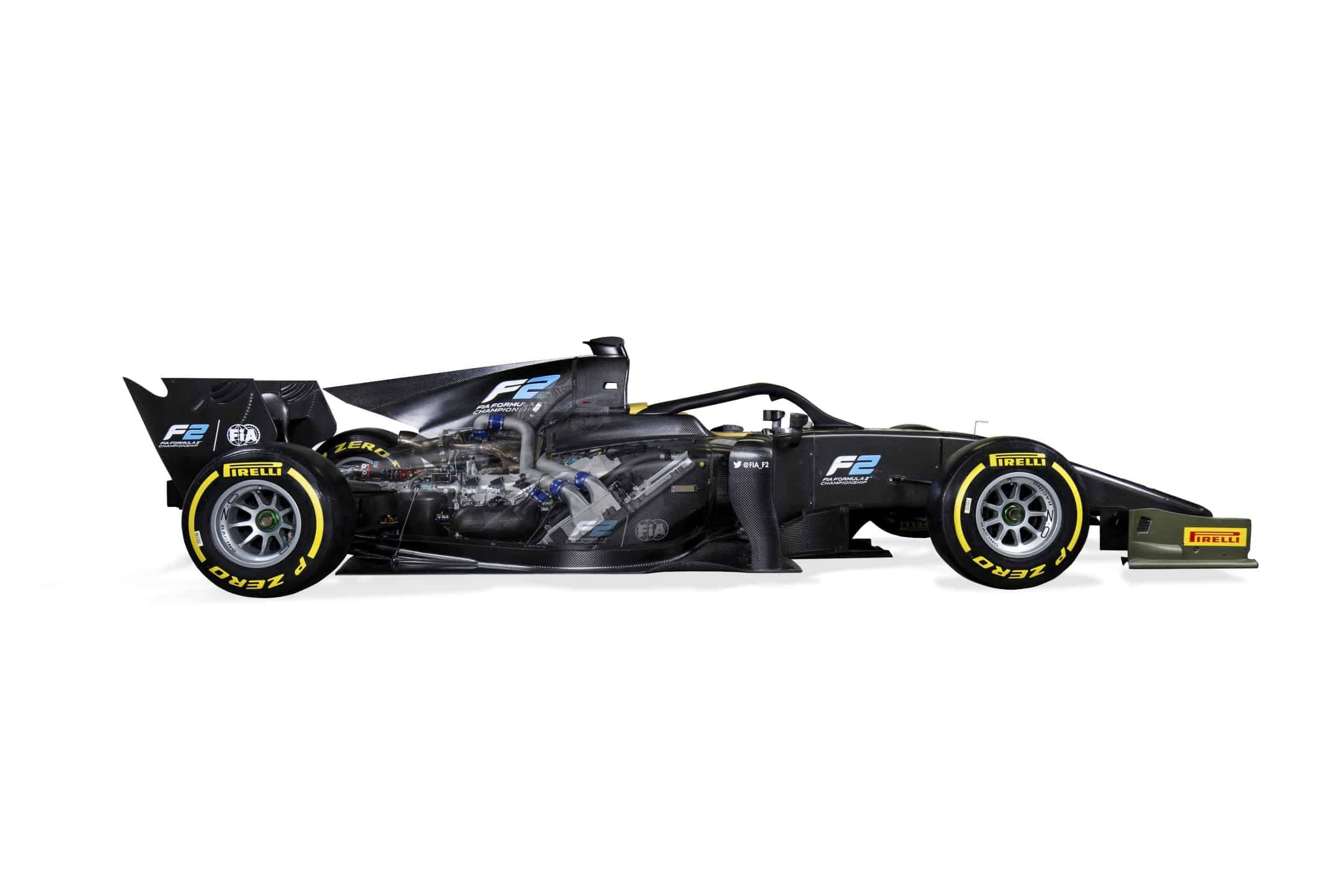 Technical specification: New F2 2018 car never so close to F1
