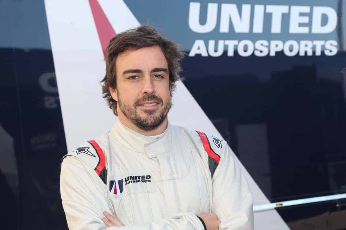 Fernando Alonso United Autosports Test 4 Photo Racedepartment