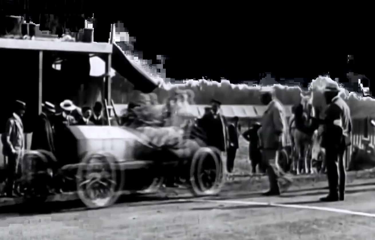 French GP 1906 first ever Grand Prix held at Le Mans in France