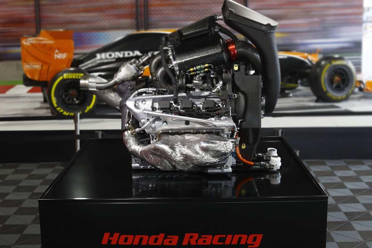 McLaren Honda F1 2017 RA617H V6 engine Honda museum