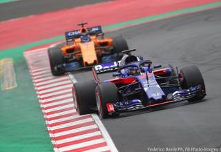 Brendon Hartley Toro Rosso Honda STR13 F1 2018