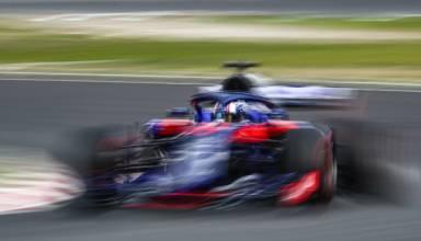 Toro Rosso Honda STR13 Barcelona F1 2018