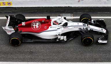 Charles Leclerc Sauber F1 2018 testing