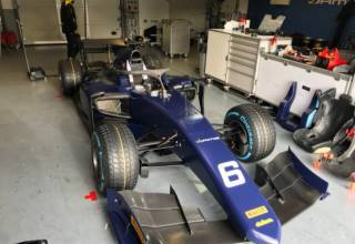 F2 2018 Magny Cours shakedown
