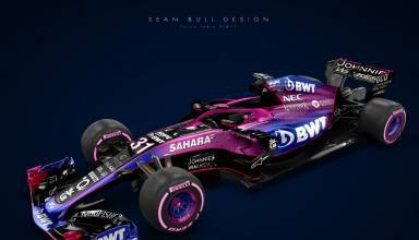 Force India VJM11 Mercedes F1 2018 livery concept Sean Bull