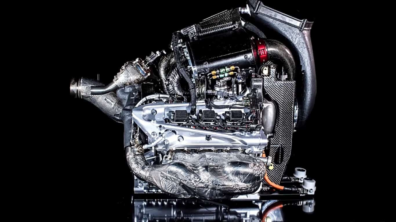 Honda F1 2018 engine RA618H
