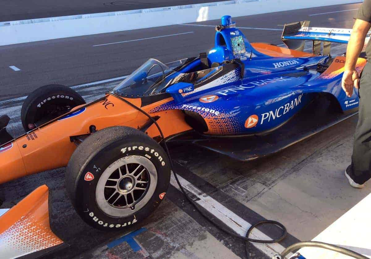 Indycar 2018 Phoenix aeroscreen