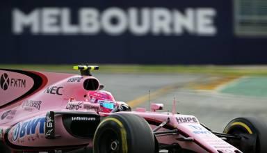 Ocon Force India Australia F1 2017 Photo Force India