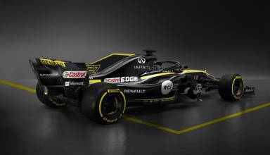 Renault F1 car 2018 RS18 rear side Photo Renault 2000