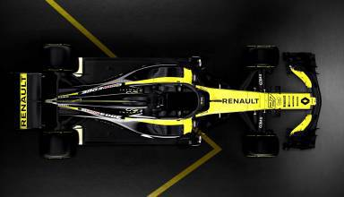 Renault F1 car 2018 RS18 top Photo Renault 2000 dark