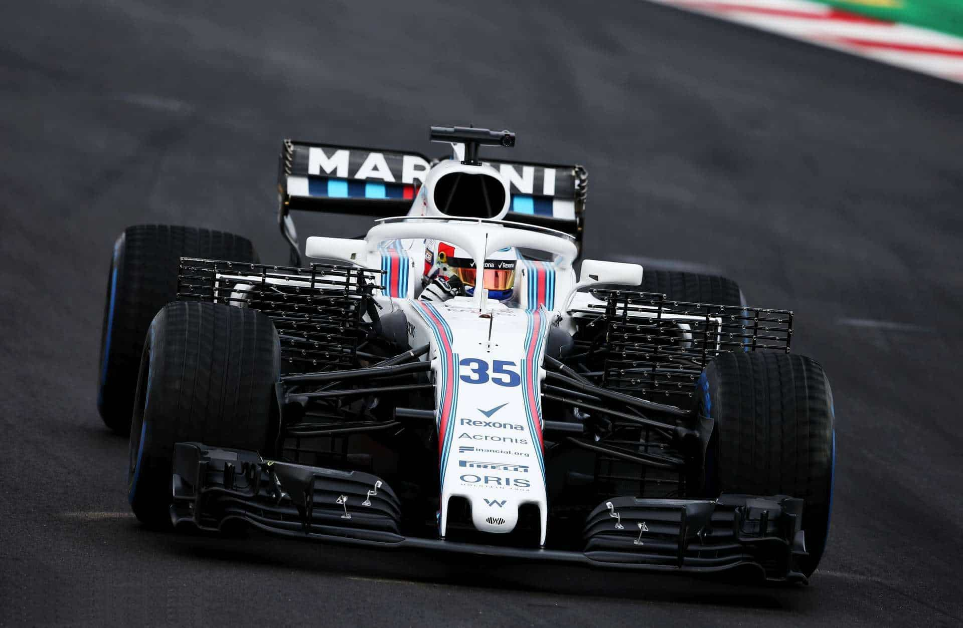 Sergey Sirotkin Williams F1 2018 testing Barcelona