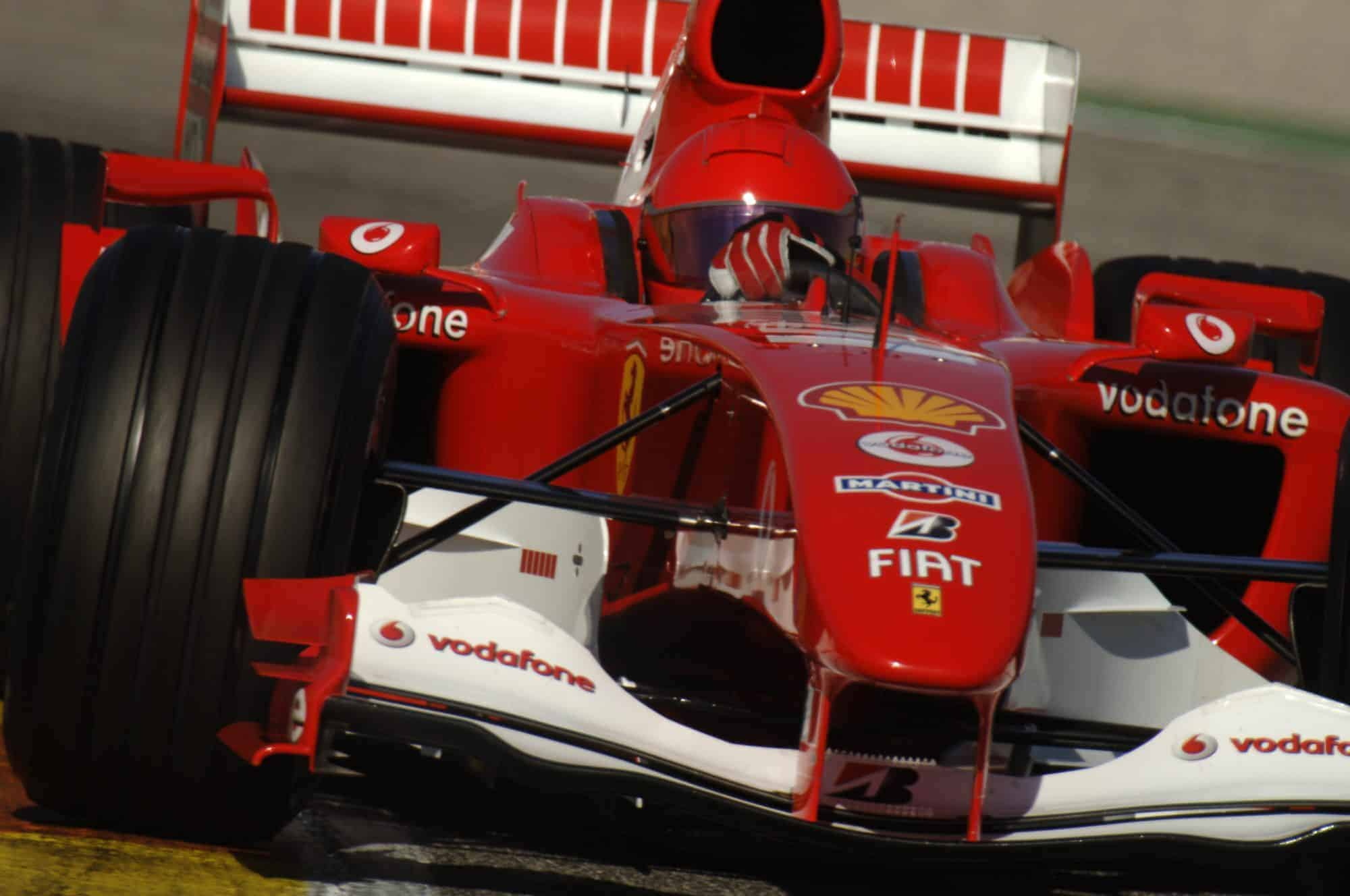 Schumacher couldn't believe how fast Rossi was'