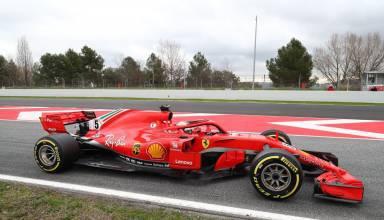 Sebastian Vettel Ferrari F1 2018 SF71H Photo Ferrari