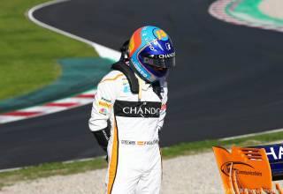 Fernando Alonso McLaren MCL33 Renault F1 2018