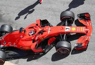Kimi Raikkonen Ferrari F1 2018 SF71H