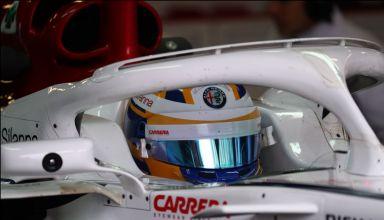 Marcus Ericsson Alfar omeo Sauber F1 2018