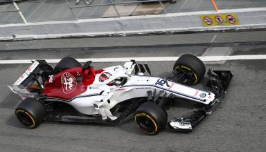 Charles Leclerc Alfa Romeo Sauber C37 F1 2018
