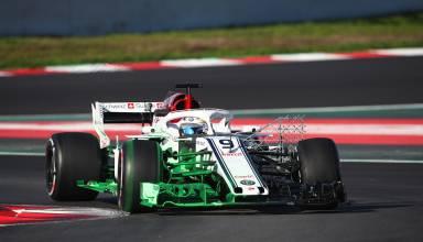 Marcus Ericsson Alfa Romeo Sauber C37 F1 2018