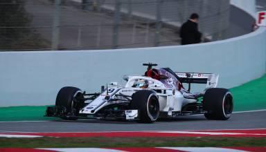 Marcus Ericsson Alfa Romeo Sauber F1 2018
