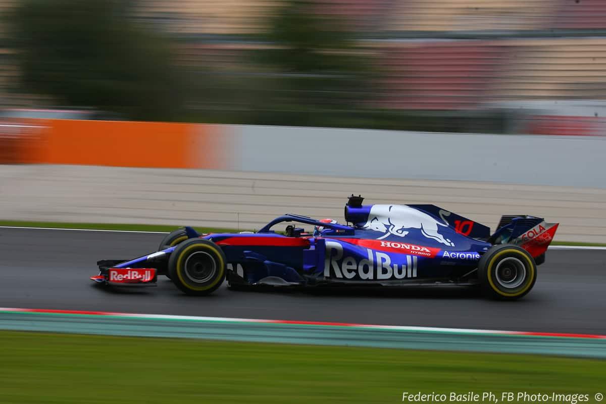 Pierre Gasly Toro Rosso honda STR13 F1 2018